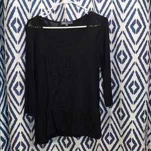 89th and Madison Large black blouse
